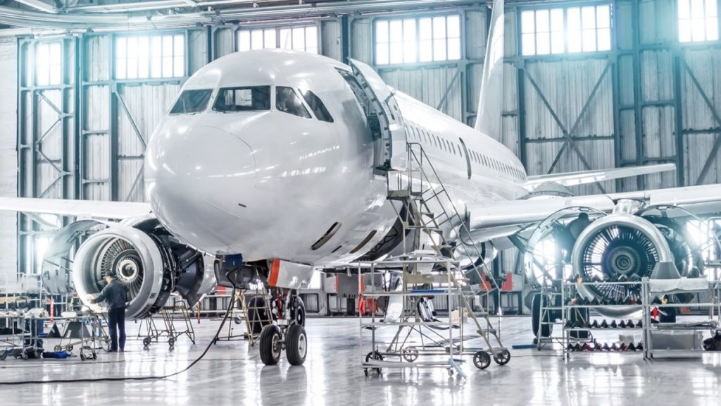 commercial aerospace sector using digital manufacturing simulation to respond to competitive environment